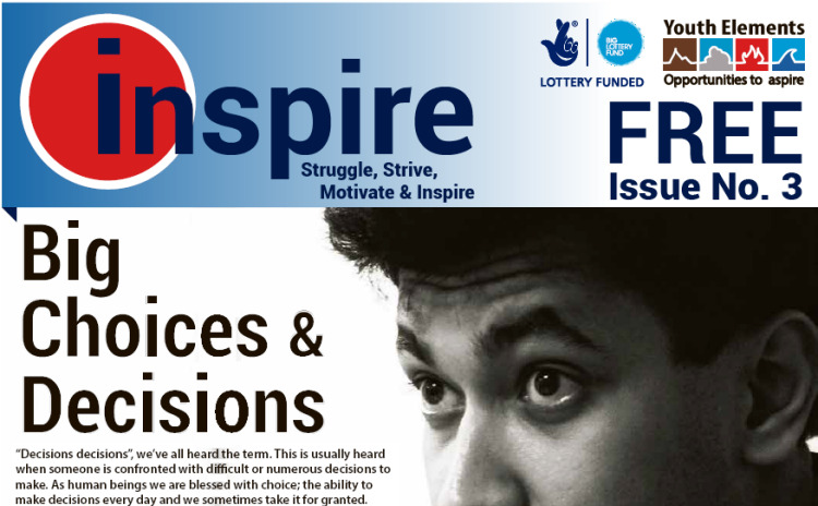 inspire magazine for young people